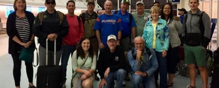 Giles McIvor Team Visits Roatan